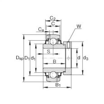 Bearing G1215-KRR-B-AS2/V INA