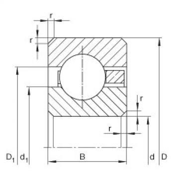 Bearing CSCF065 INA