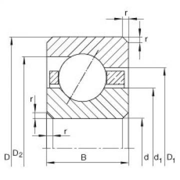 Bearing CSEB025 INA