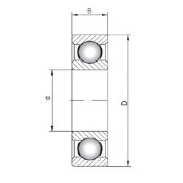Bearing 6422 ISO