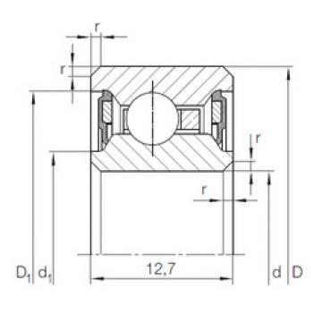 Bearing CSCU 075.2RS INA