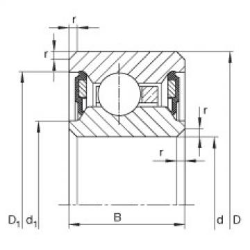 Bearing CSCU075-2RS INA