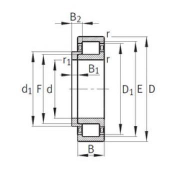 Bearing NJ210+HJ210 CYSD