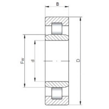 Bearing NU12/560 ISO