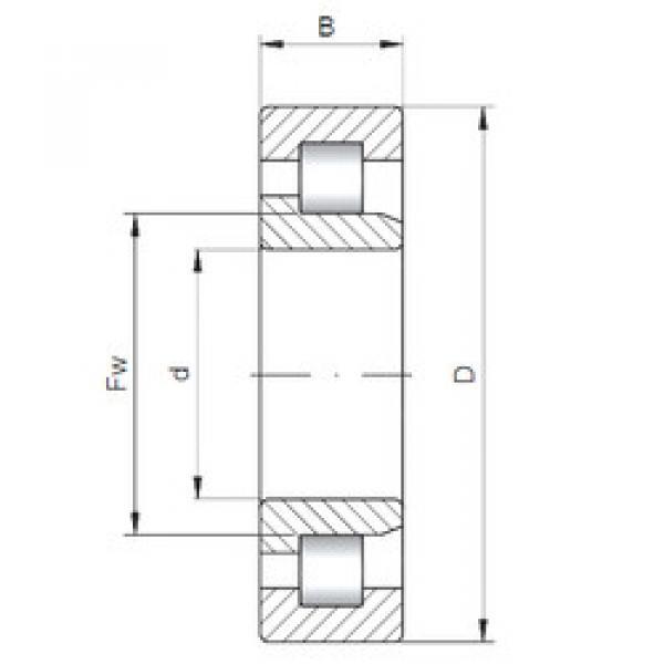 Bearing NJ210 ISO
