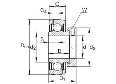 Bearing GRA010-NPP-B-AS2/V INA