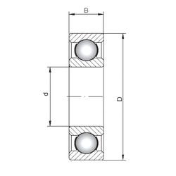 Bearing 63801 CX