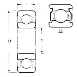 Bearing 6404ZZ FBJ