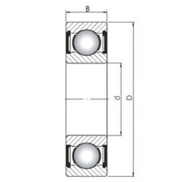 Bearing 63803 ZZ ISO