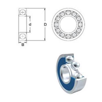 Bearing 63801-2RS ZEN