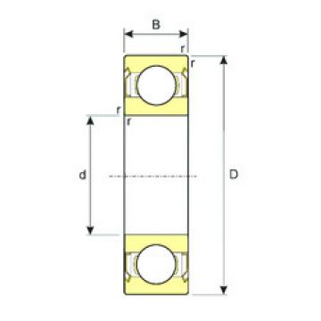 Bearing 638/4-ZZ ISB