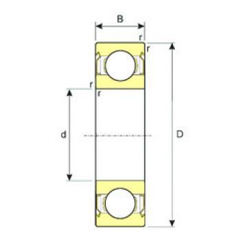 Bearing 63800ZZ ISB