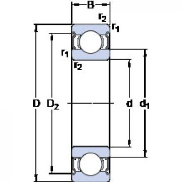 Bearing 638/4-2Z SKF
