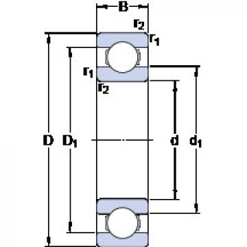 Bearing 6409 SKF