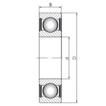 Bearing 63803-2RS ISO
