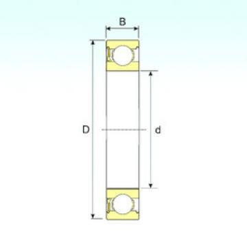 Bearing 638-RZ ISB