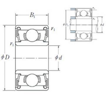 Bearing 638-2RS ISO