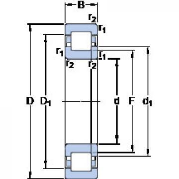 Bearing NUP 248 MA SKF