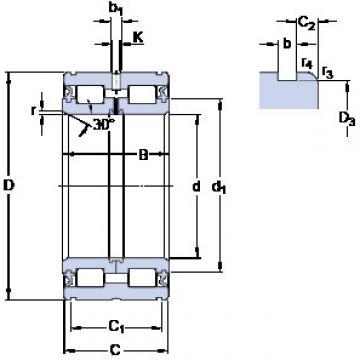 Bearing NNF 5011 ADB-2LSV SKF