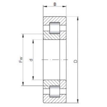 Bearing NUP1028 ISO