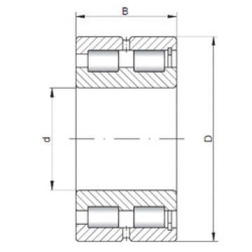 Bearing NNCF5022 V ISO