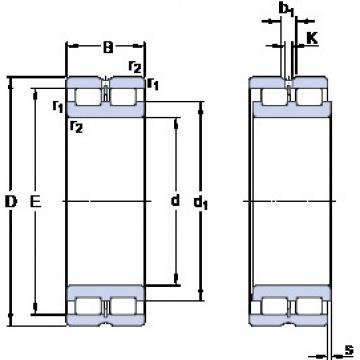 Bearing NNCL 4918 CV SKF