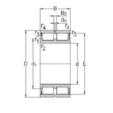Bearing NNCL4980-V NKE