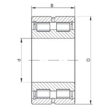 Bearing NNCL4880 V ISO
