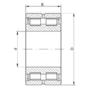 Bearing NNCL4968 V ISO