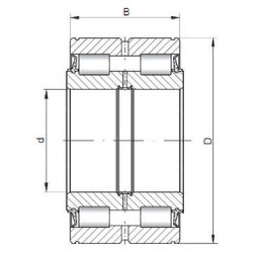 Bearing NNF5015 V ISO