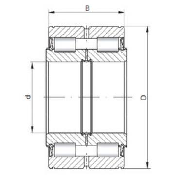 Bearing NNF5016 V ISO