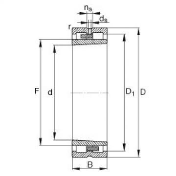 Bearing NNU4968-S-K-M-SP FAG