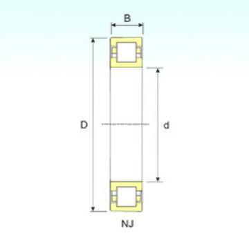 Bearing NUP 217 ISB