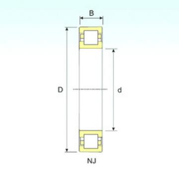 Bearing NUP 222 ISB