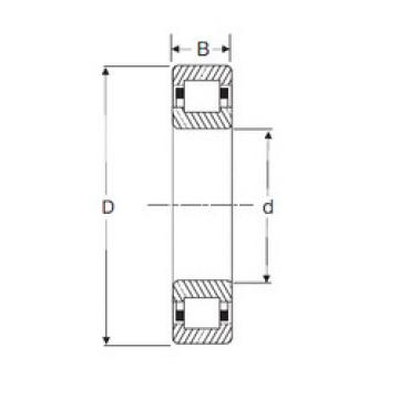 Bearing NUP 2306 SIGMA