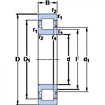 Bearing NUP 228 ECML SKF
