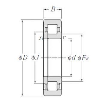 Bearing NUP1028 CYSD