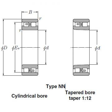 Bearings Cylindrical Roller Bearings NN4964