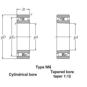 Bearings Tapered Roller Bearings NN3072K
