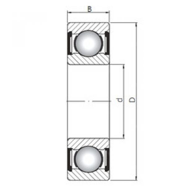 Bearing 6407 ZZ ISO #1 image