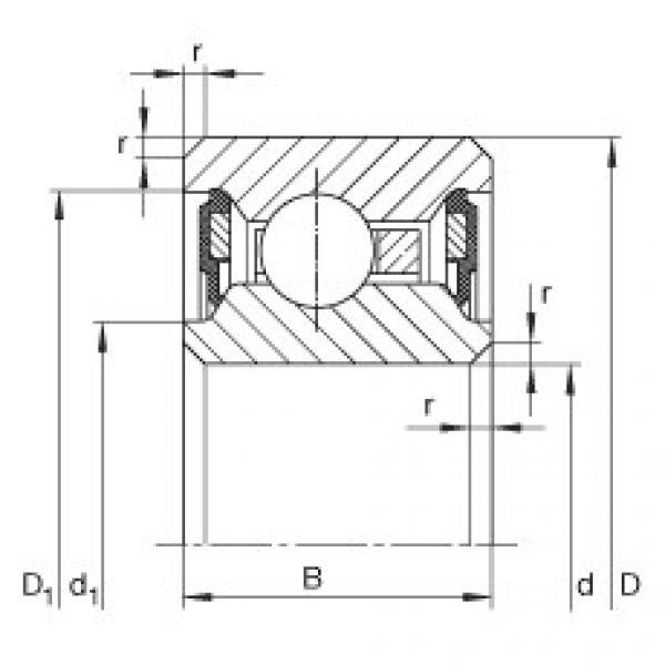 Bearing CSCU110-2RS INA #1 image