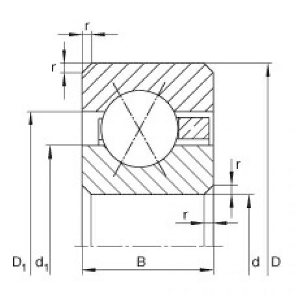 Bearing CSXB020 INA #1 image