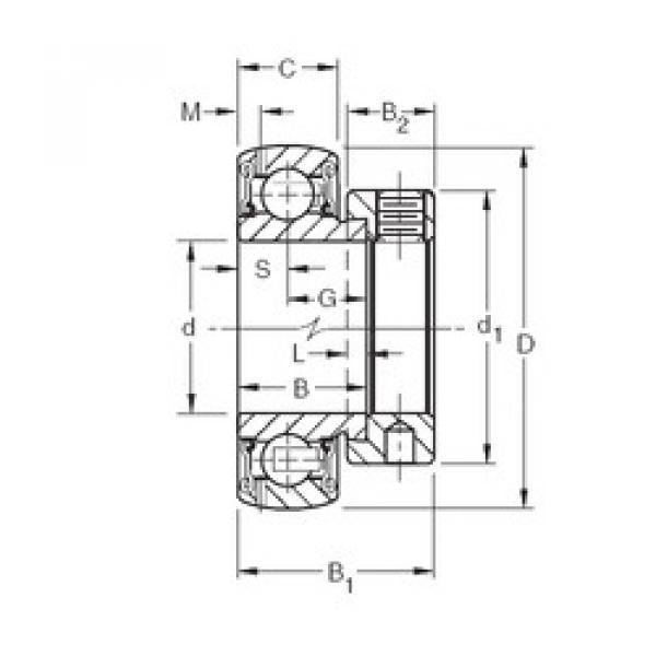 Bearing GRA008RRB Timken #1 image