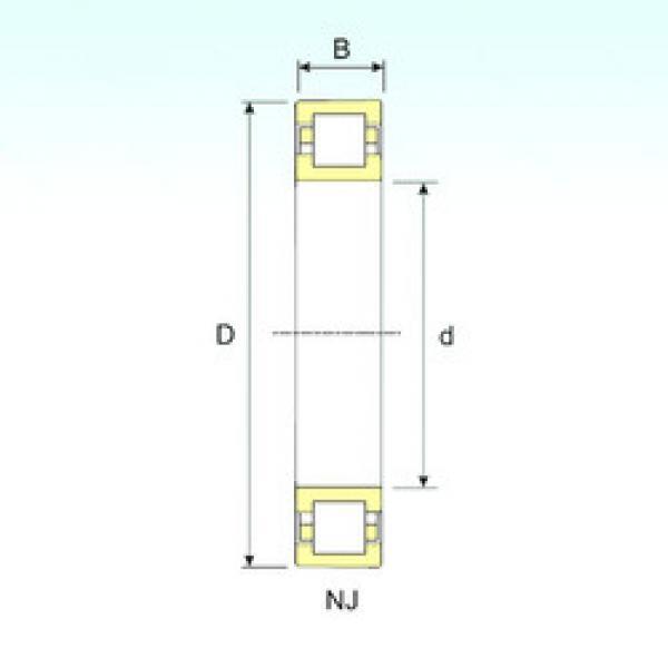 Bearing NUP 218 ISB #1 image