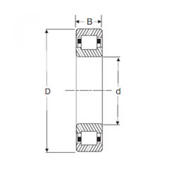 Bearing NUP 217 SIGMA #1 image