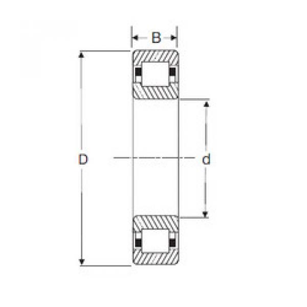 Bearing NUP 2309 SIGMA #1 image