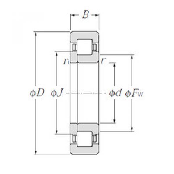 Bearing NUP1052 NTN #1 image